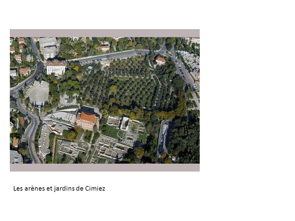 Les arènes et jardins de Cimiez