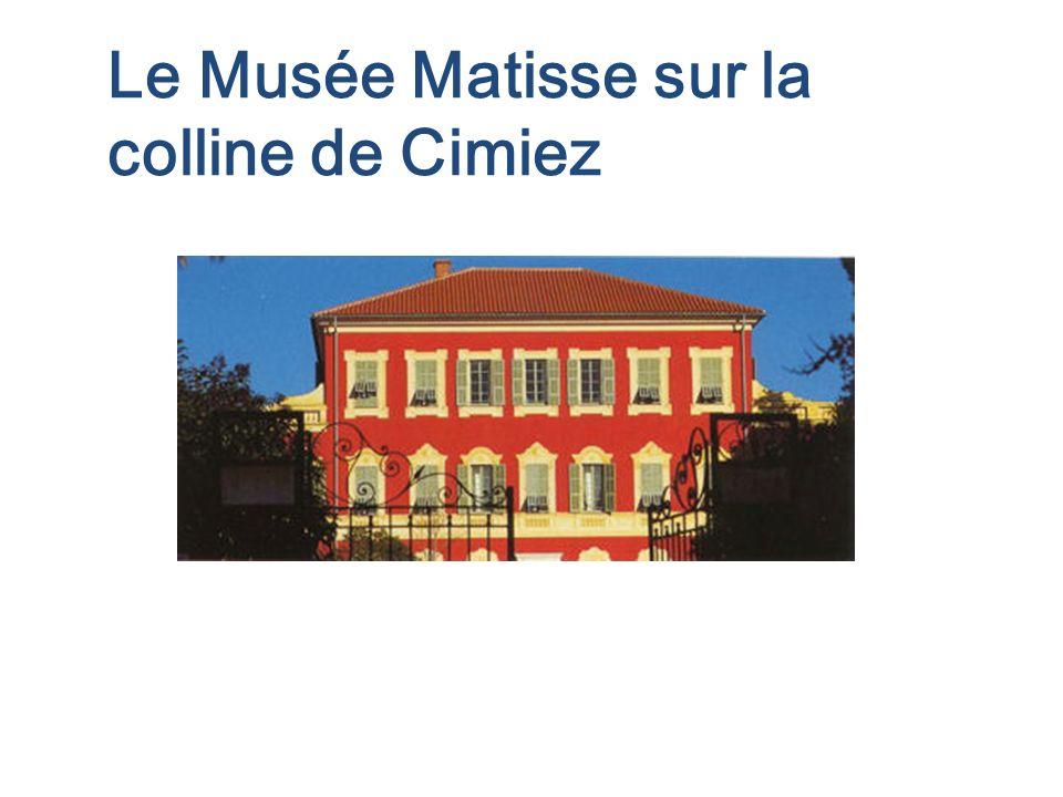 Le Musée Matisse sur la colline de Cimiez