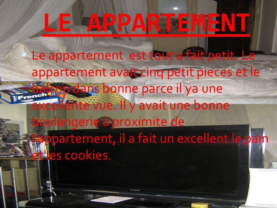 LE APPARTEMENT