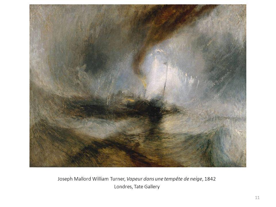 Joseph Mallord William Turner, Vapeur dans une tempête de neige, 1842