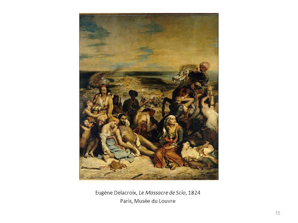 Eugène Delacroix, Le Massacre de Scio, 1824