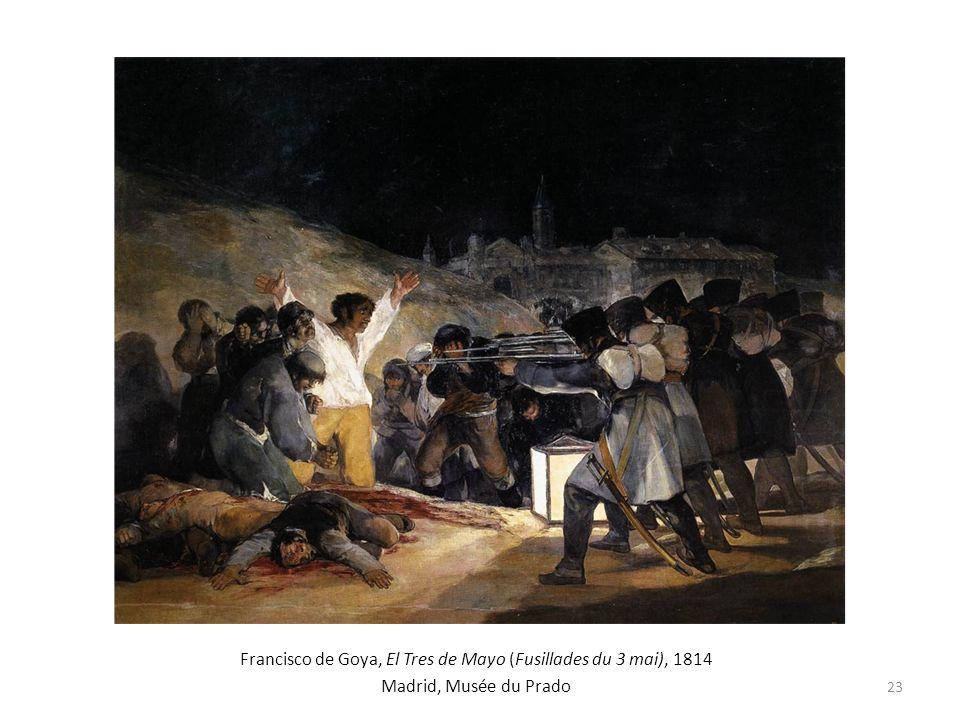 Francisco de Goya, El Tres de Mayo (Fusillades du 3 mai), 1814