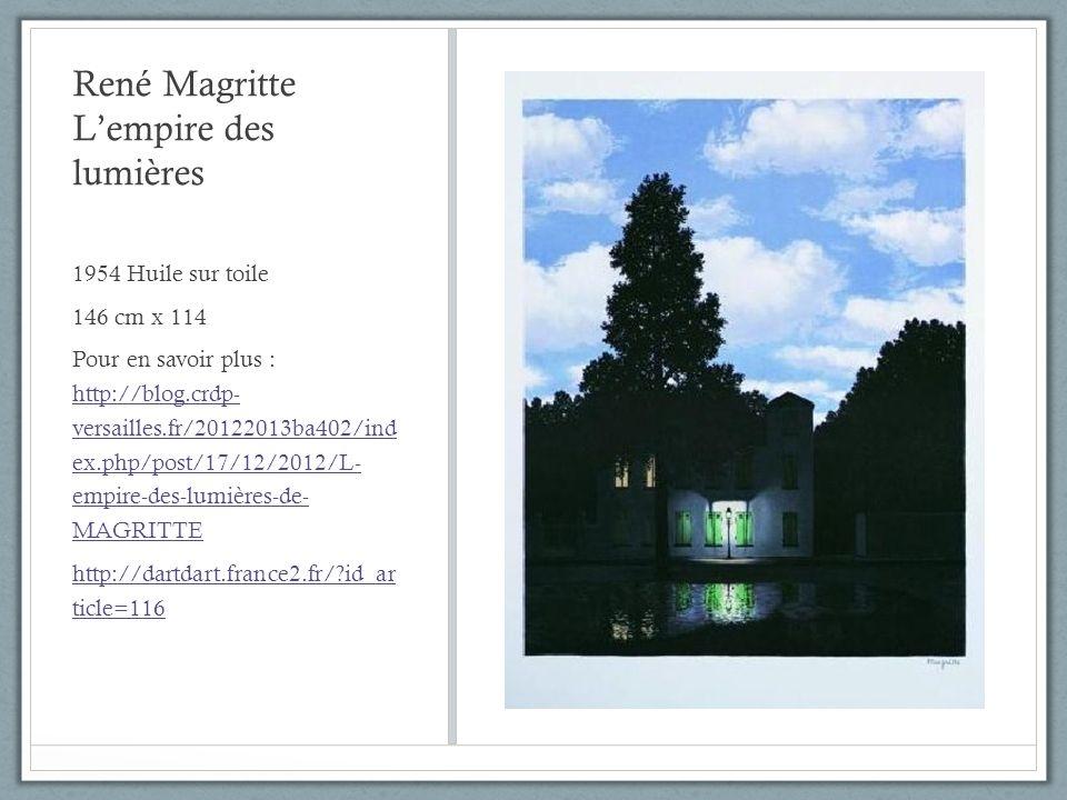 René Magritte L'empire des lumières