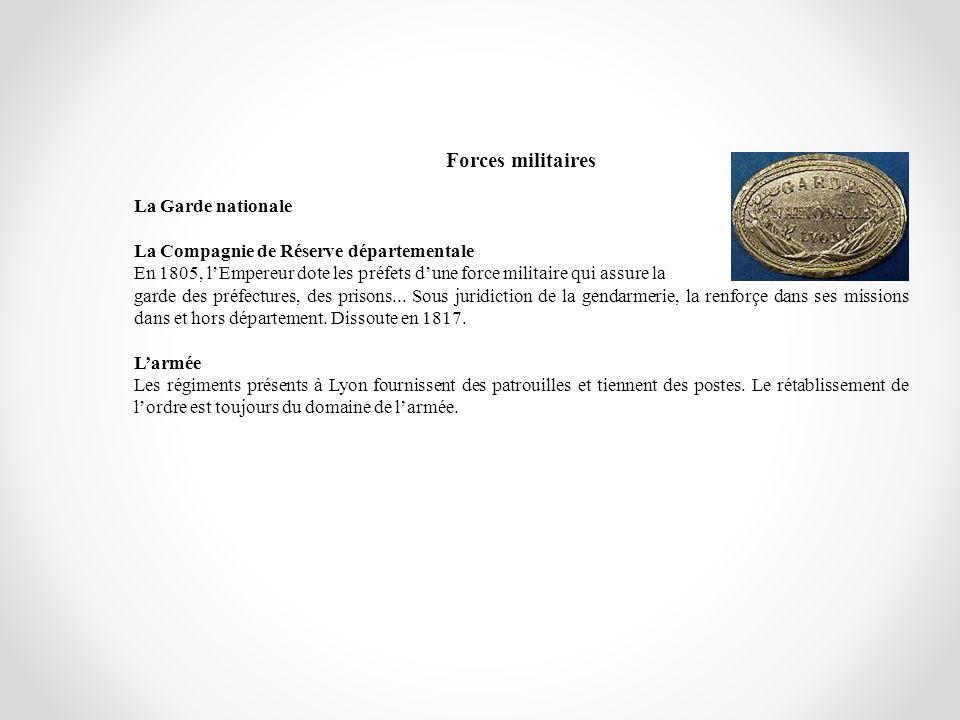Forces militaires La Garde nationale