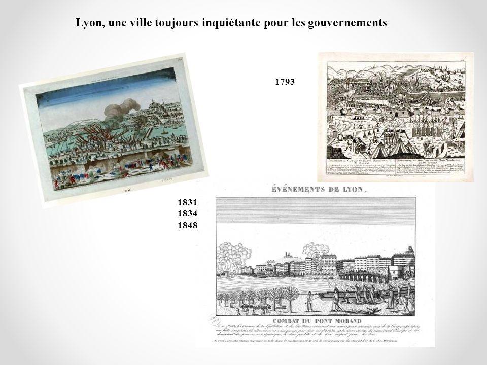 Lyon, une ville toujours inquiétante pour les gouvernements