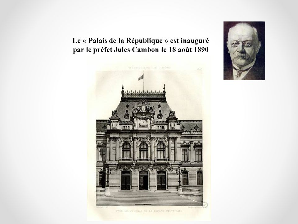 Le « Palais de la République » est inauguré