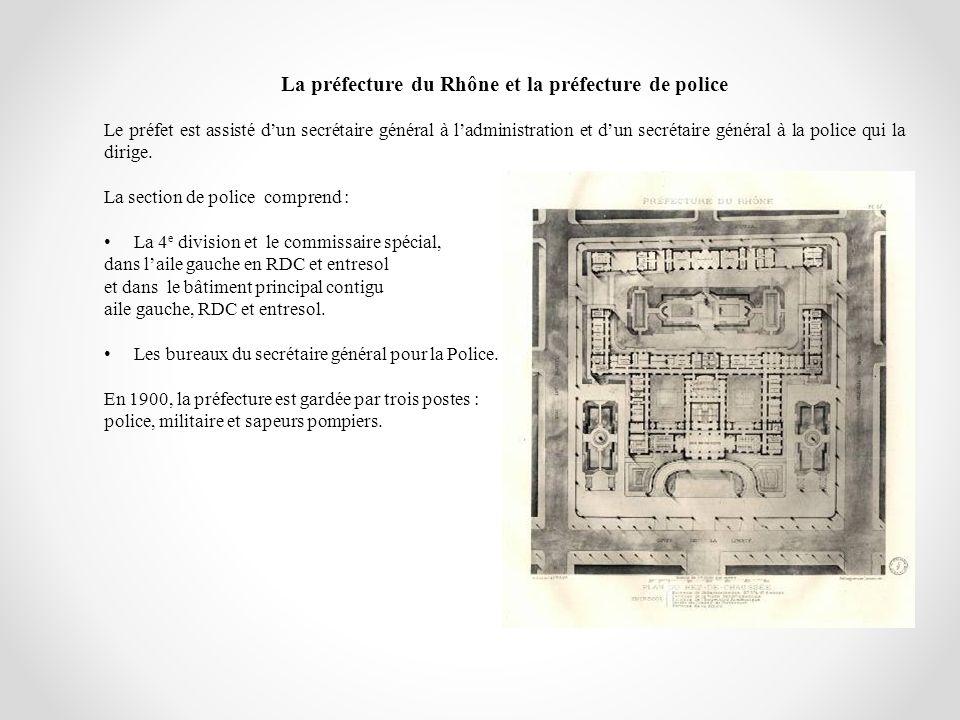 La préfecture du Rhône et la préfecture de police