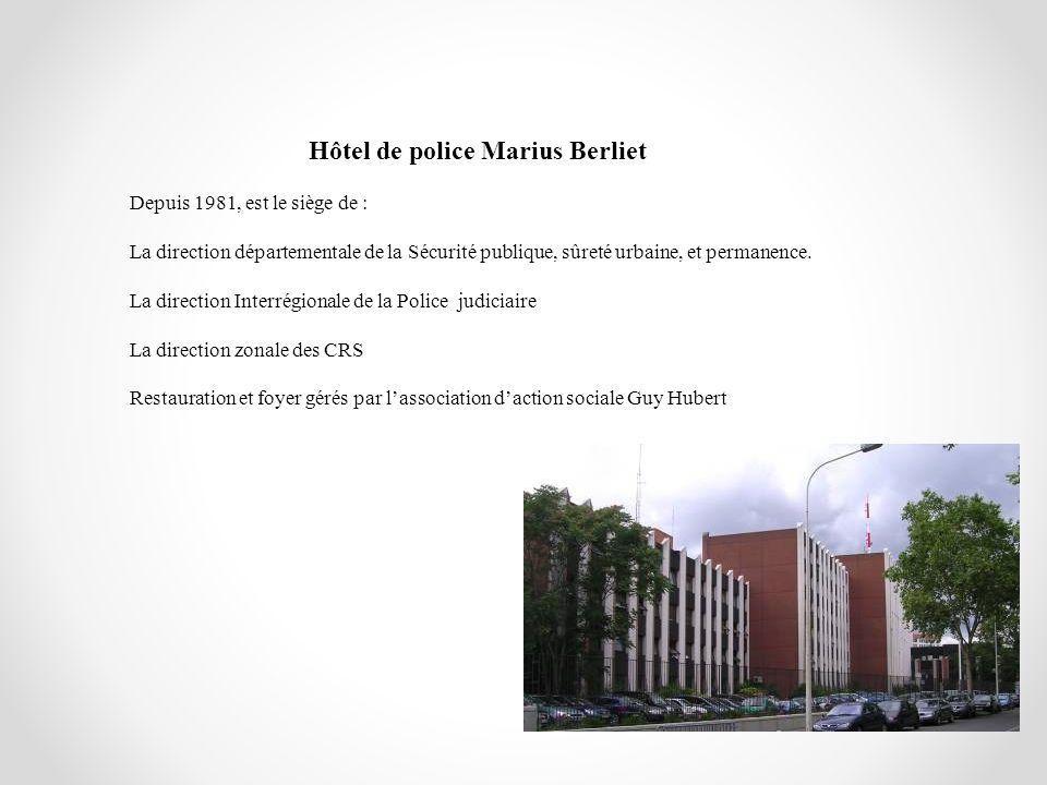 Hôtel de police Marius Berliet