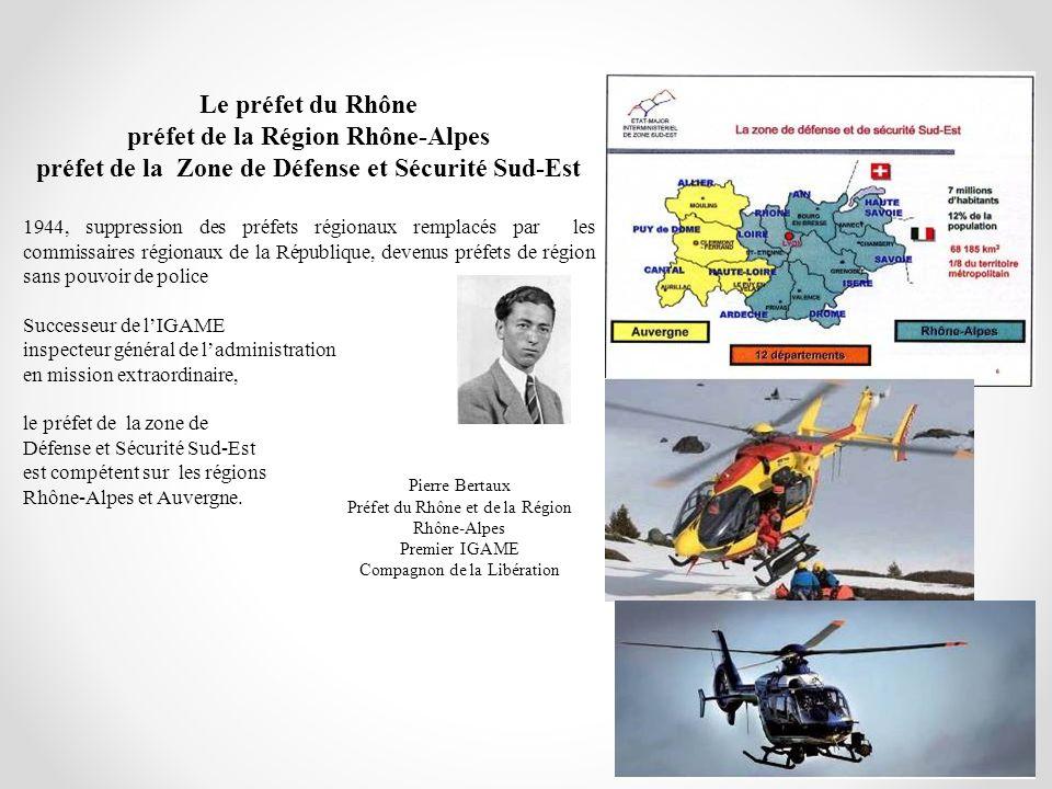 préfet de la Région Rhône-Alpes