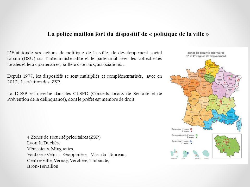 La police maillon fort du dispositif de « politique de la ville »