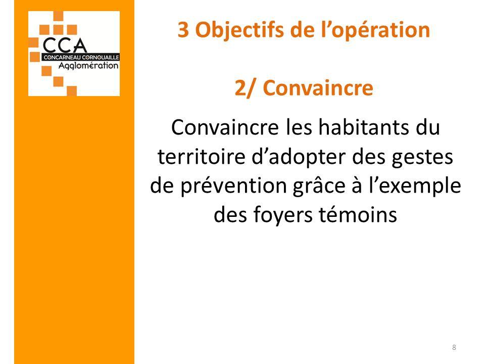 3 Objectifs de l'opération 2/ Convaincre