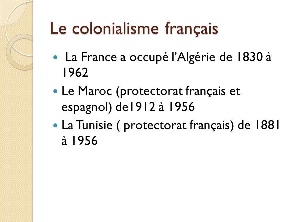 Le colonialisme français