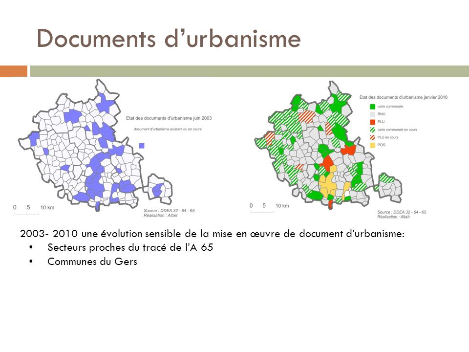 Documents d'urbanisme