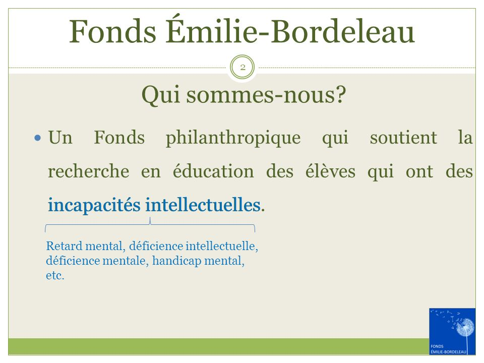 Fonds Émilie-Bordeleau