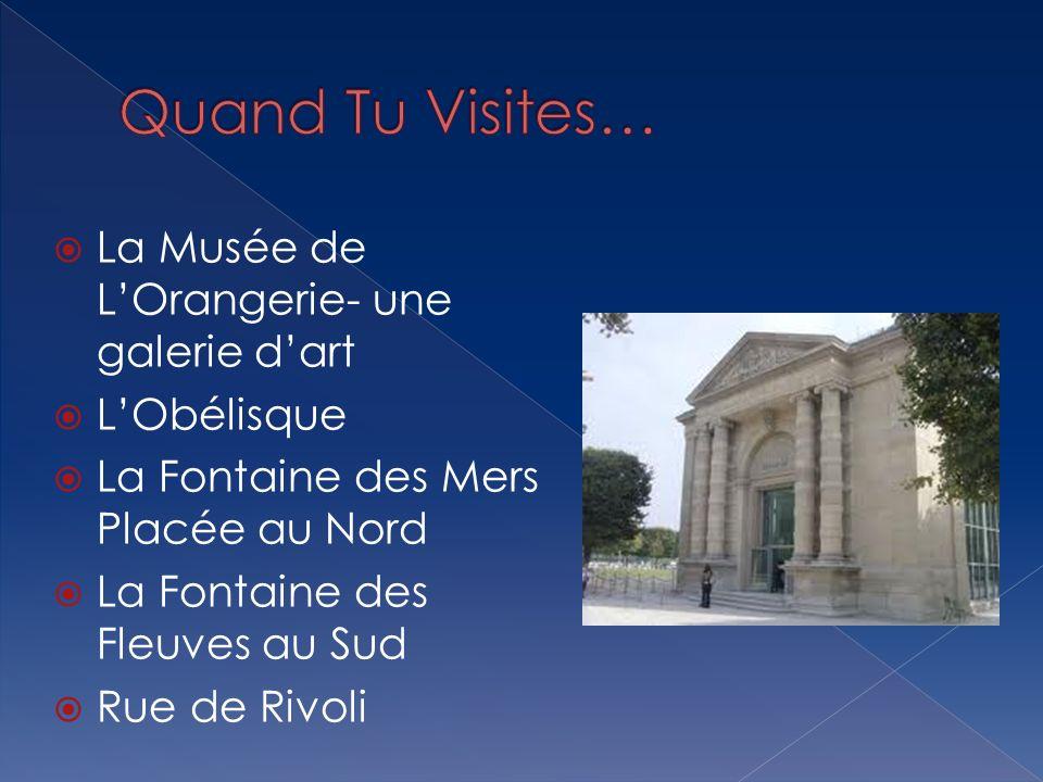 Quand Tu Visites… La Musée de L'Orangerie- une galerie d'art
