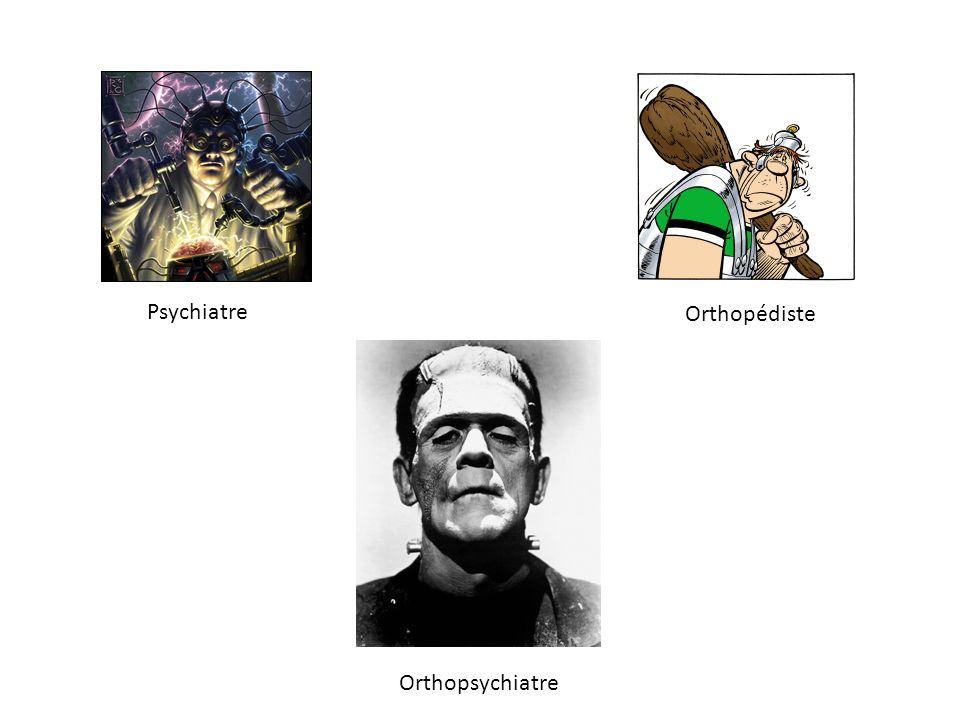Psychiatre Orthopédiste Orthopsychiatre