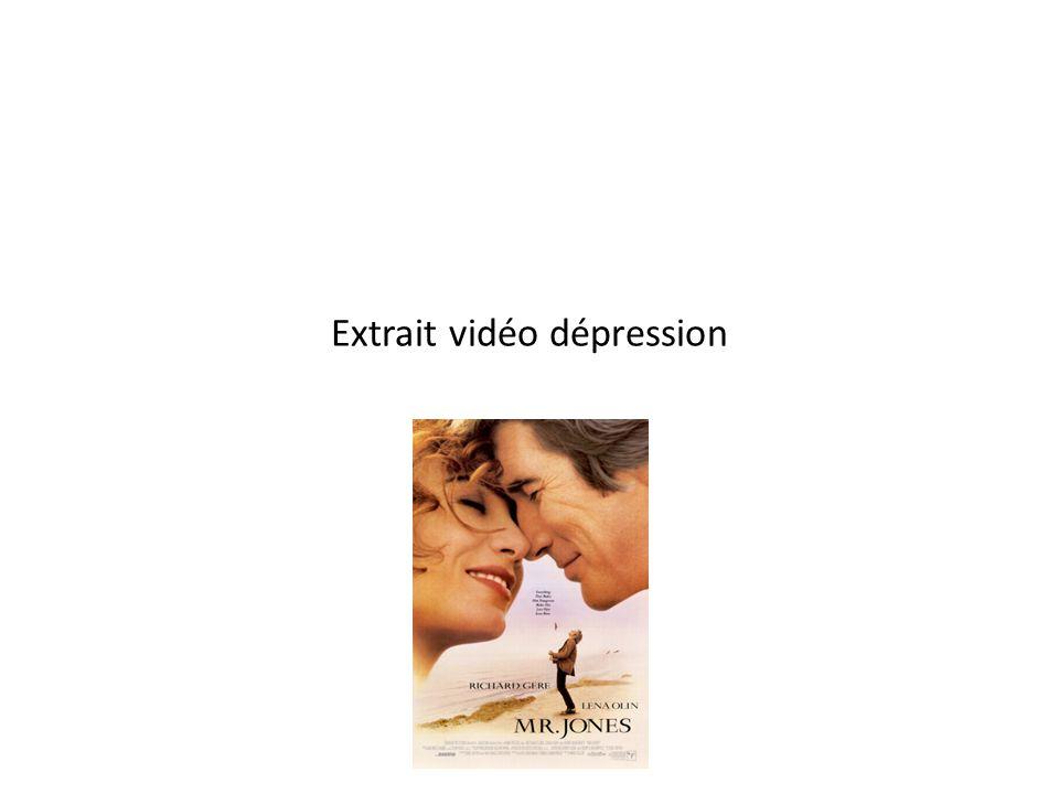Extrait vidéo dépression