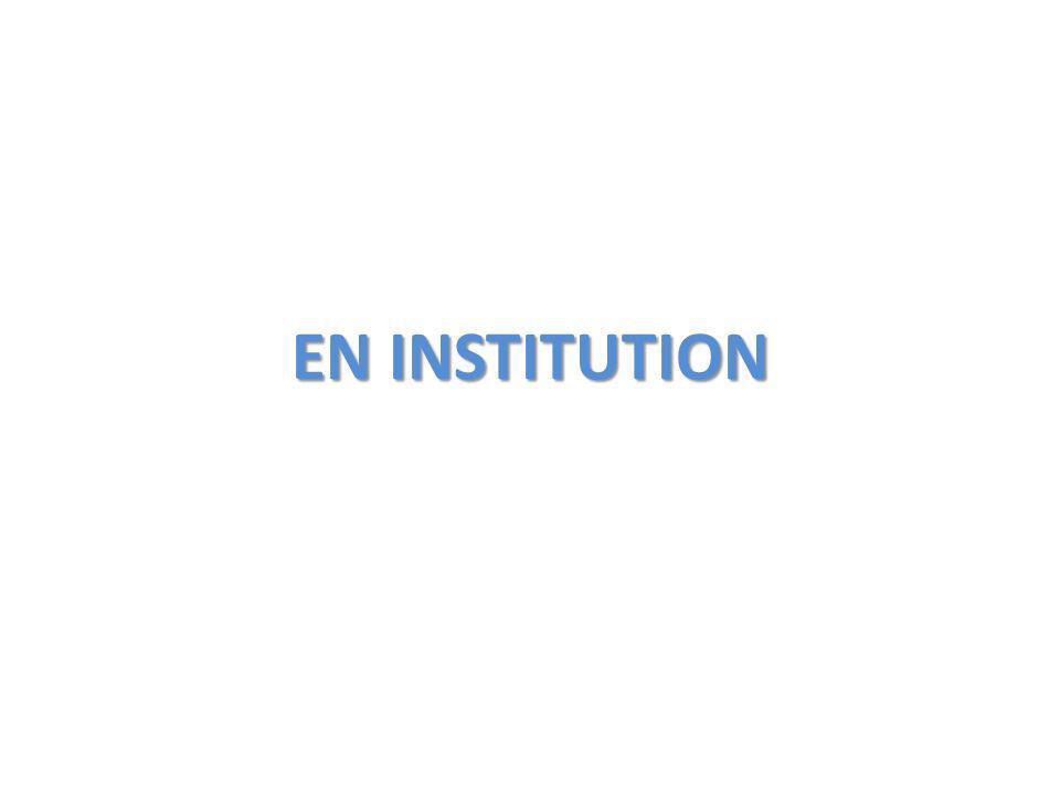 EN INSTITUTION