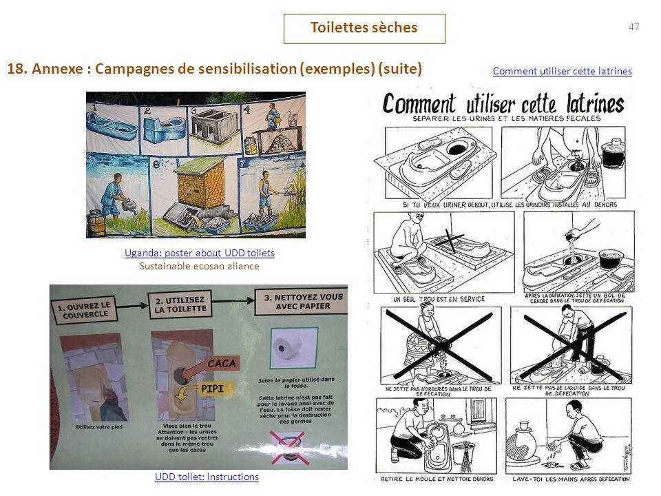 18. Annexe : Campagnes de sensibilisation (exemples) (suite)