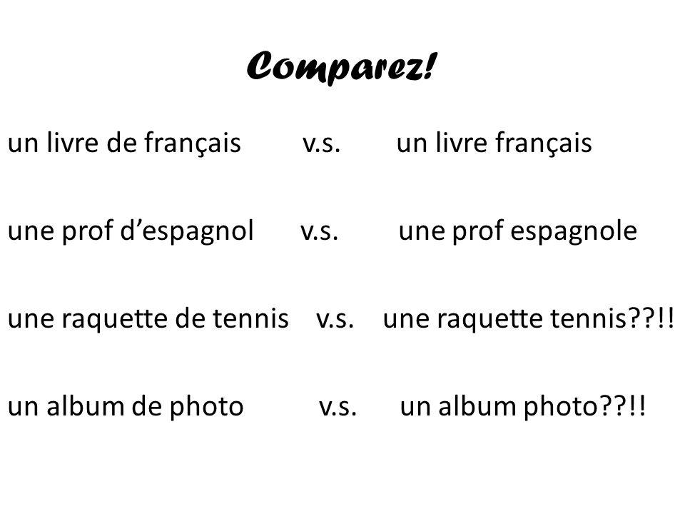 Comparez!