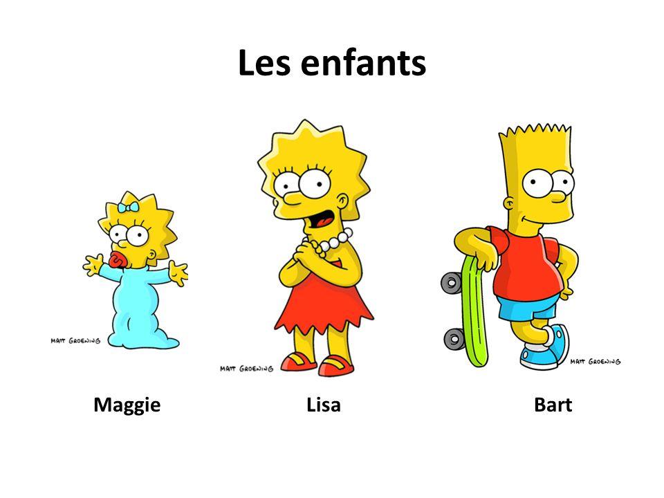 Les enfants Maggie Lisa Bart