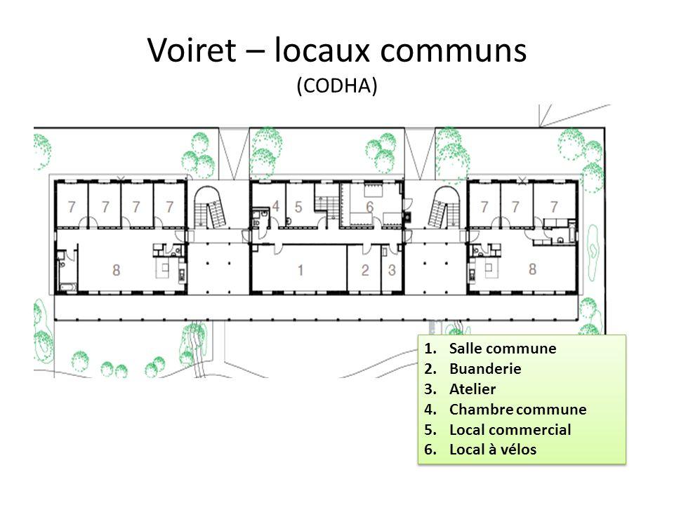 Voiret – locaux communs (CODHA)