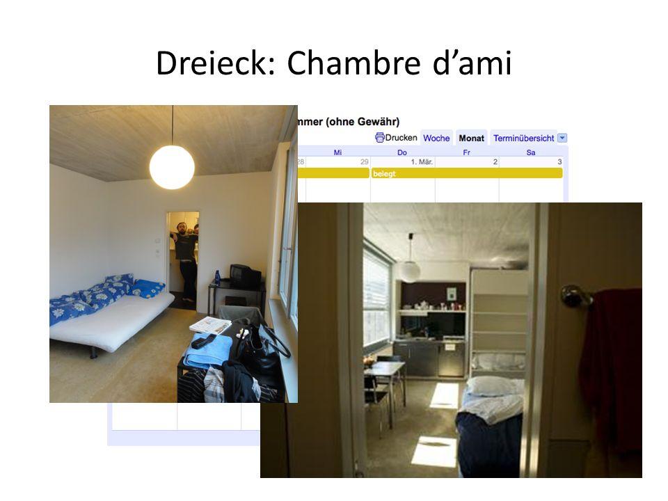 Dreieck: Chambre d'ami