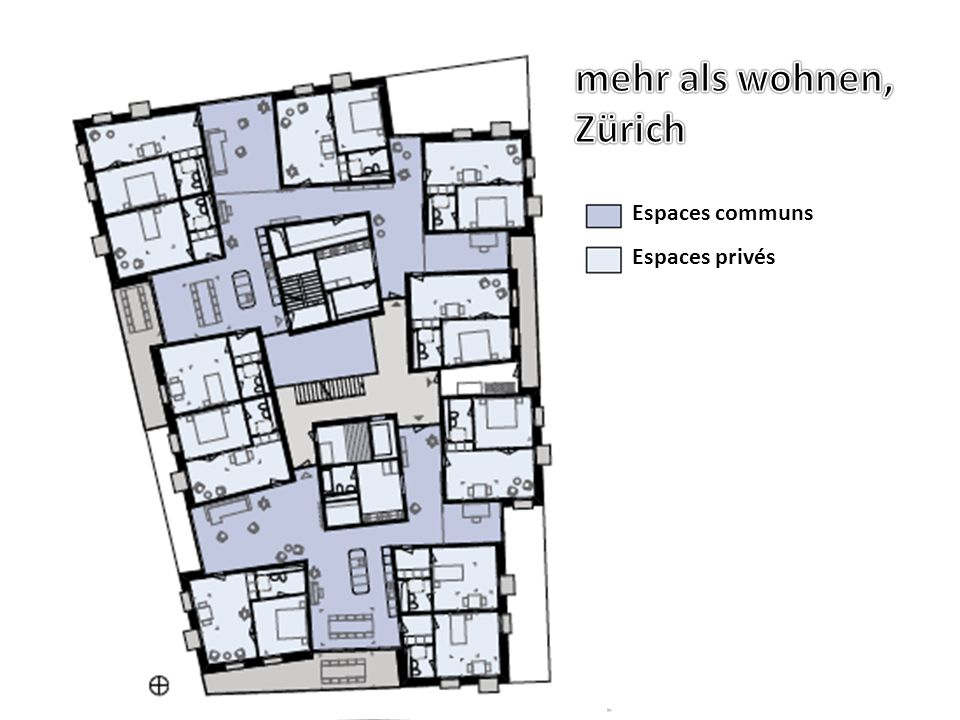mehr als wohnen, Zürich mehr als wohnen, Zürich Espaces communs