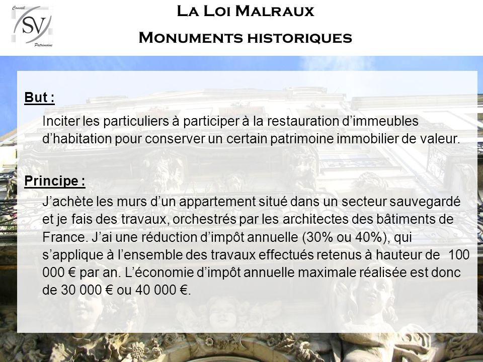 La Loi Malraux Monuments historiques