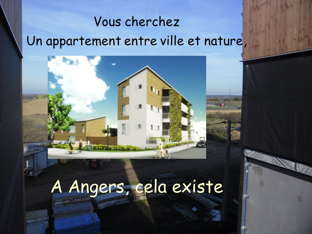 Un appartement entre ville et nature,