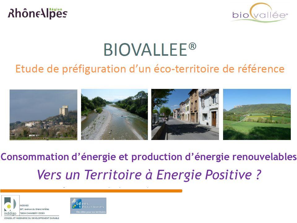 Consommation d'énergie et production d'énergie renouvelables