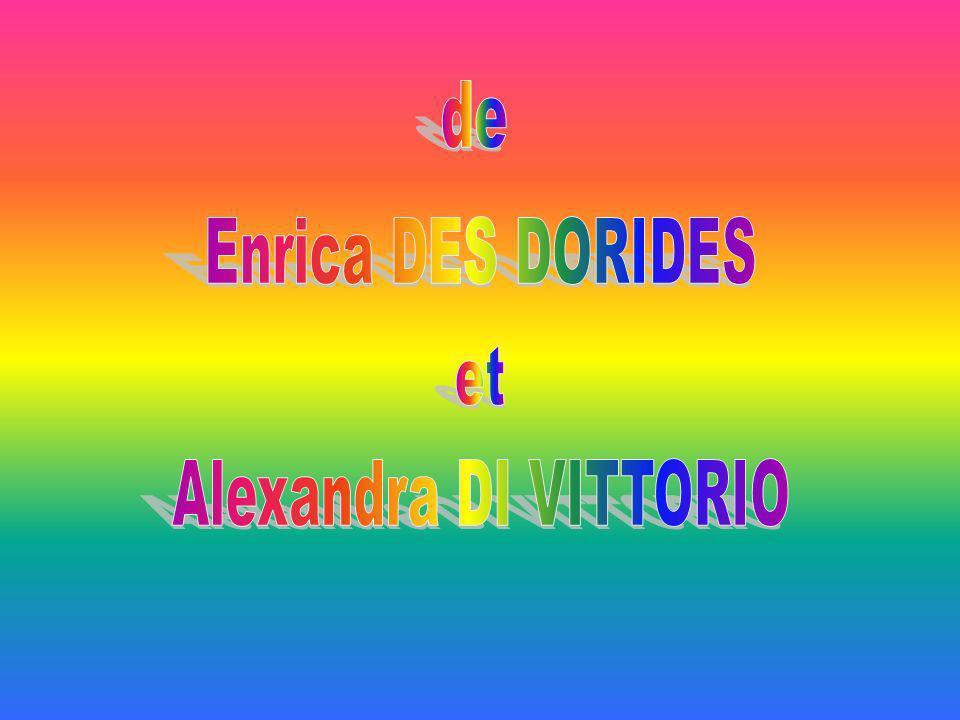 de Enrica DES DORIDES et Alexandra DI VITTORIO