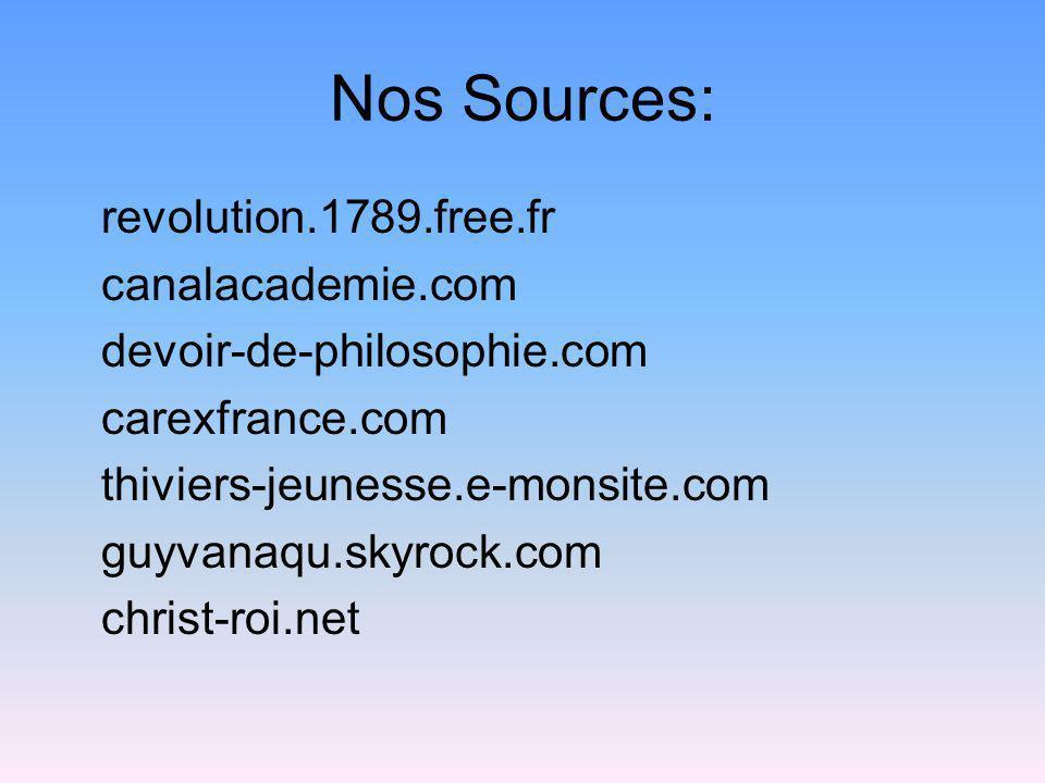 Nos Sources: revolution.1789.free.fr canalacademie.com