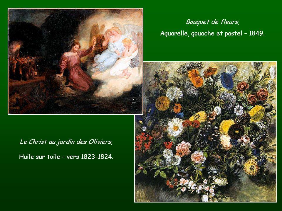 Aquarelle, gouache et pastel – 1849.