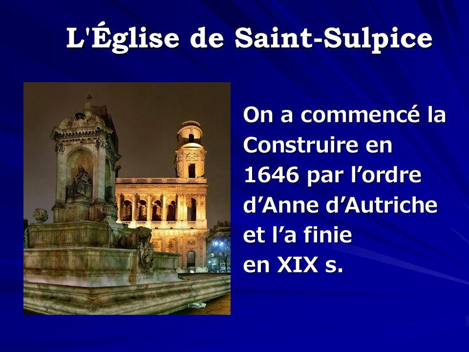 L Église de Saint-Sulpice