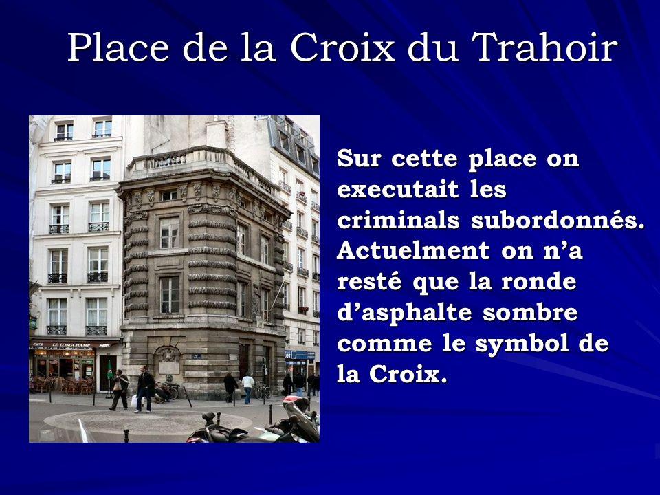 Place de la Croix du Trahoir