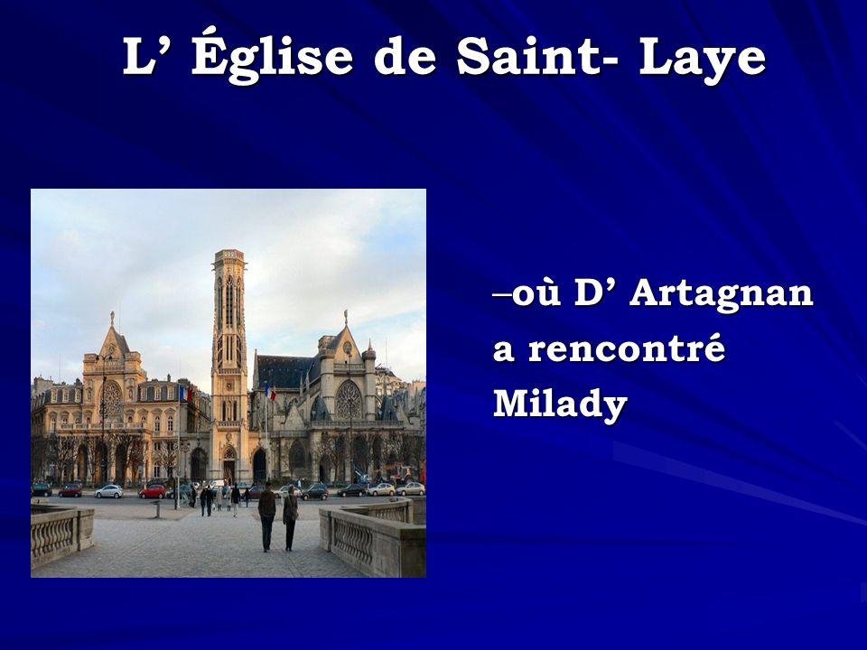 L' Église de Saint- Laye