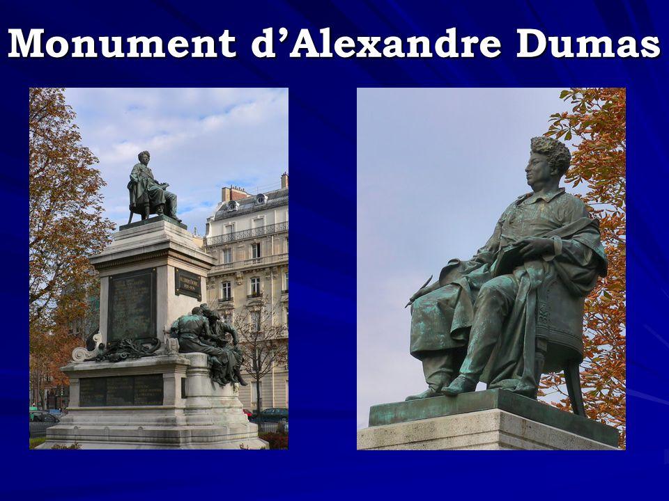 Monument d'Alexandre Dumas