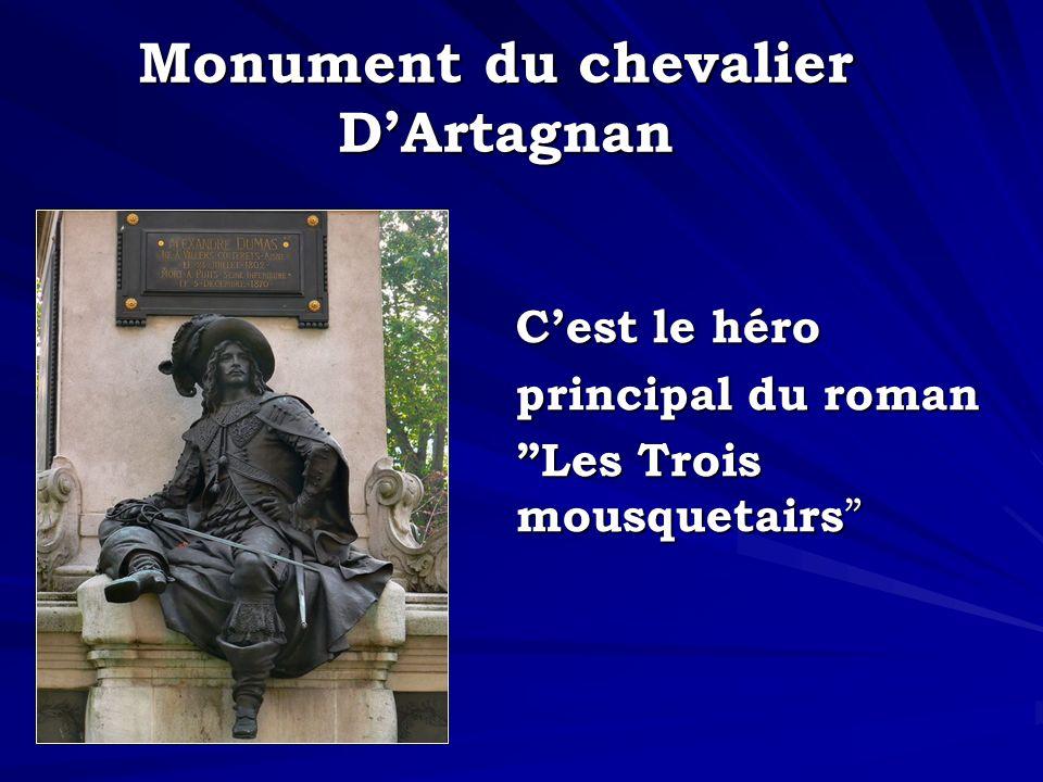 Monument du chevalier D'Artagnan