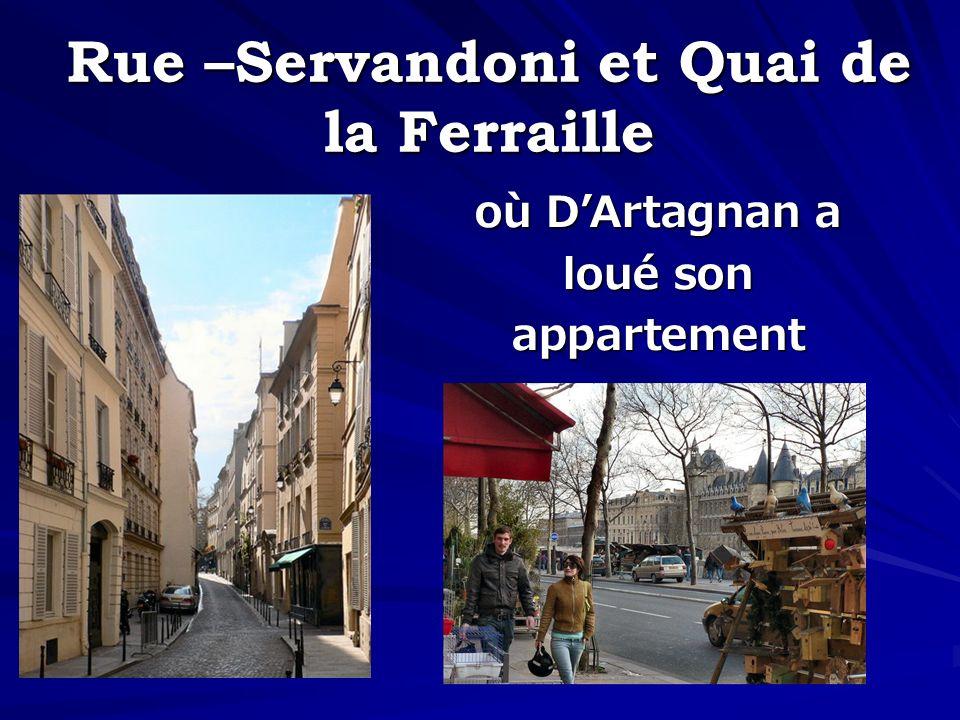 Rue –Servandoni et Quai de