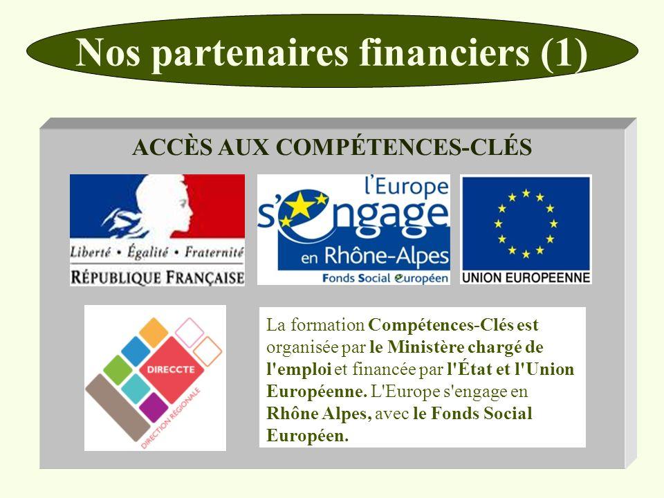 Nos partenaires financiers (1)