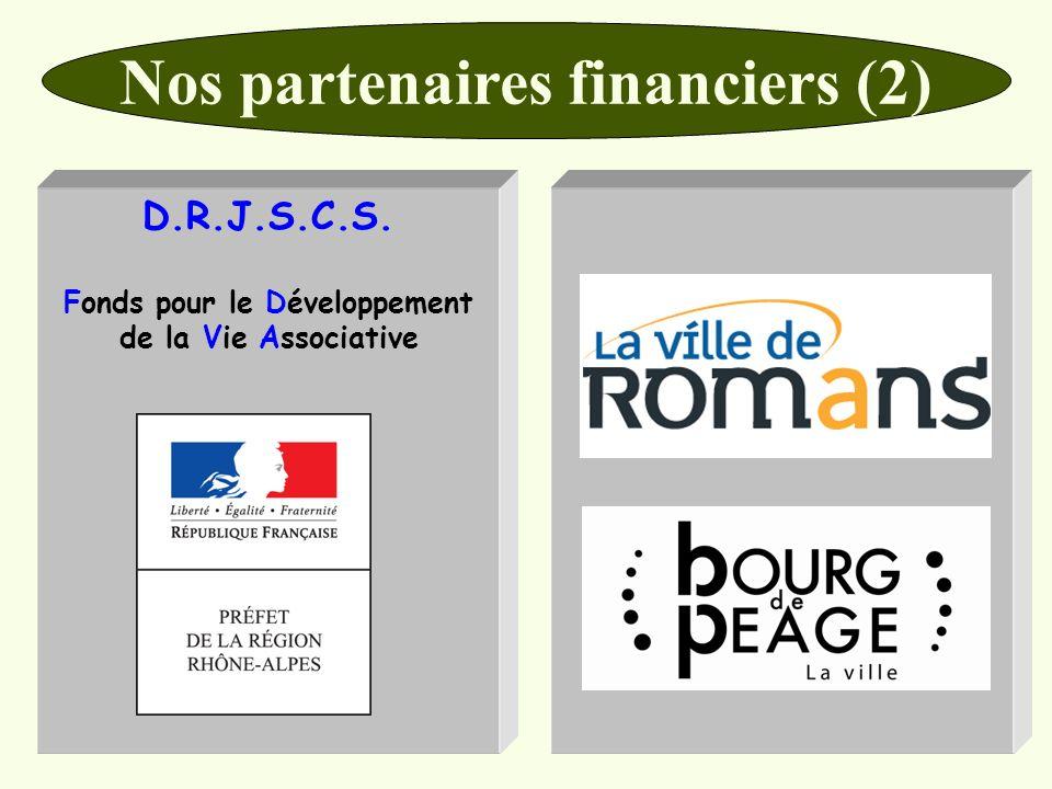 Nos partenaires financiers (2)