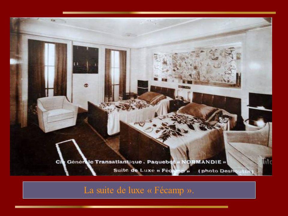 La suite de luxe « Fécamp ».