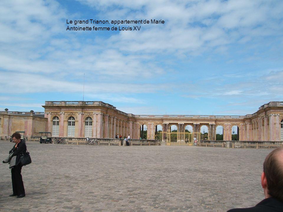Le grand Trianon, appartement de Marie Antoinette femme de Louis XV