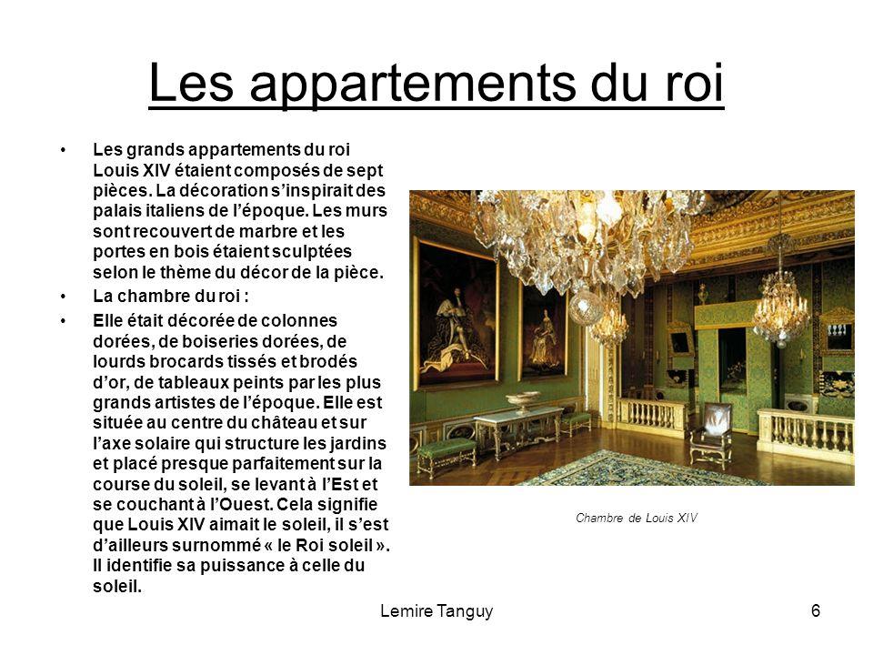 Les appartements du roi