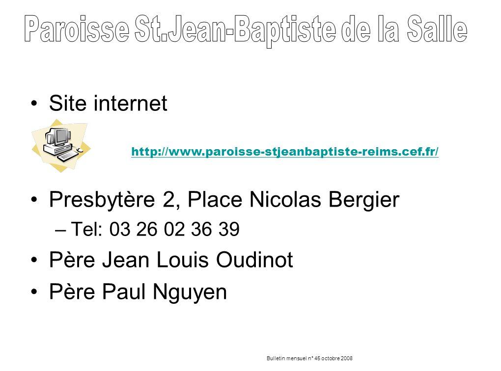 Presbytère 2, Place Nicolas Bergier Père Jean Louis Oudinot
