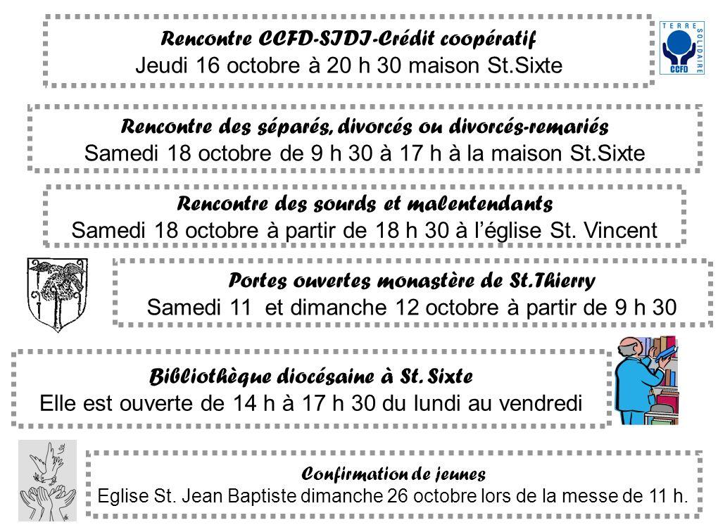 Rencontre CCFD-SIDI-Crédit coopératif