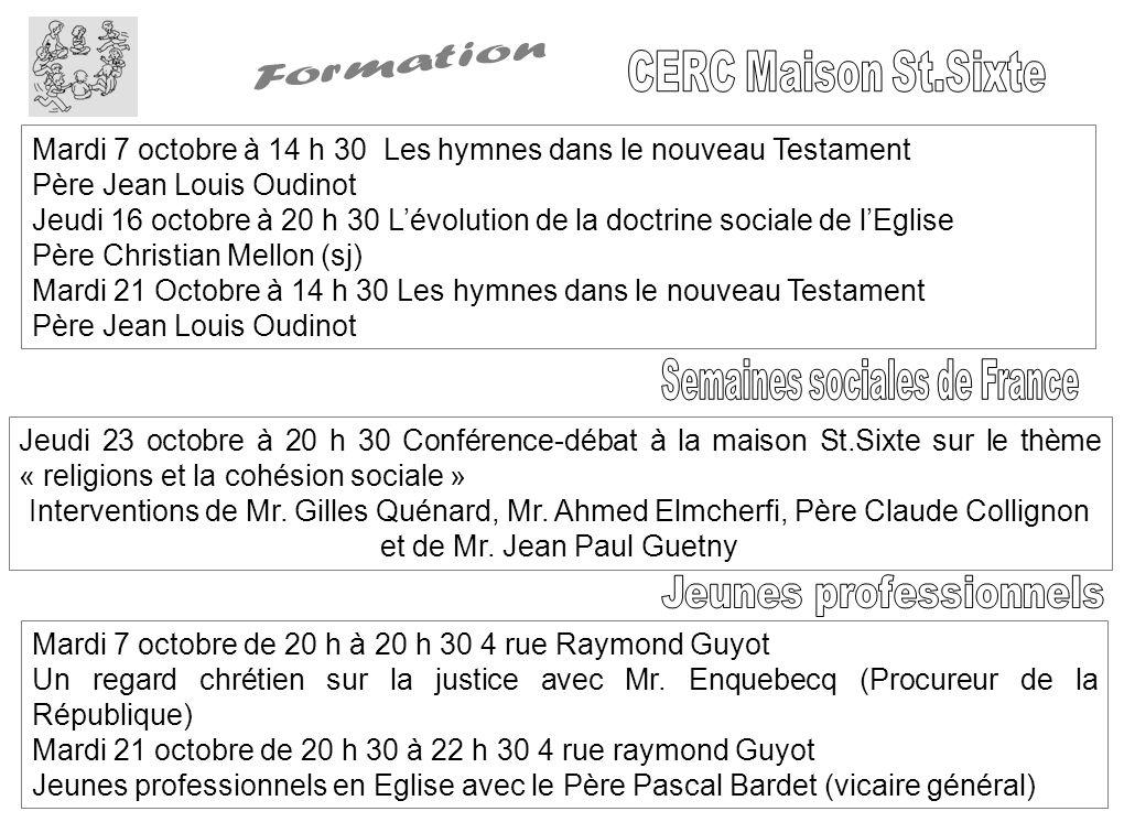 Formation CERC Maison St.Sixte