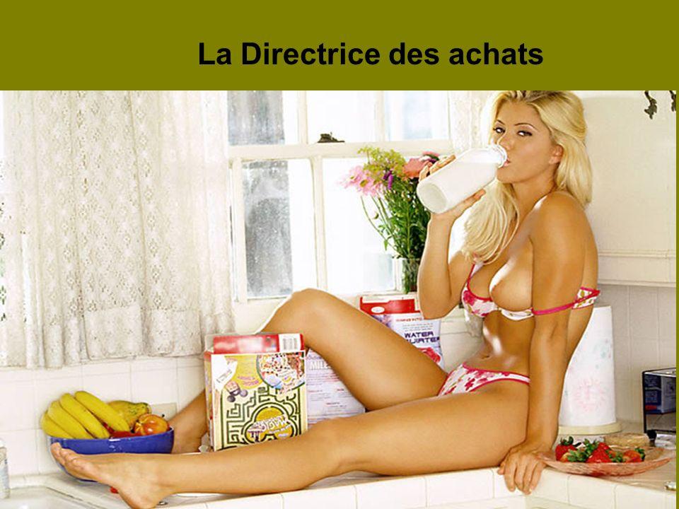 La Directrice des achats