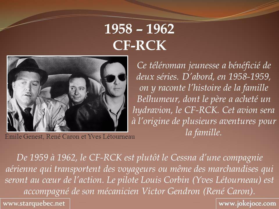Émile Genest, René Caron et Yves Létourneau